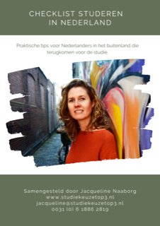 Checklist studeren in Nederland